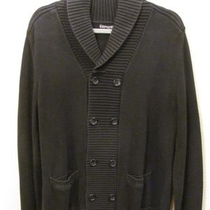 Men's Express Double Breast Cardigan